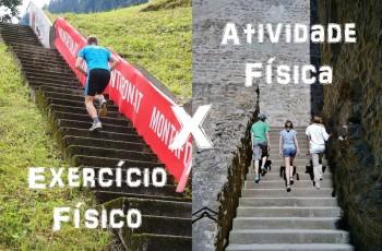 Atividade Física vs Exercício Físico: entenda de uma vez por todas as diferenças entre eles