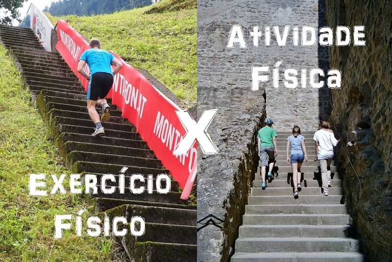 exercício físico atividade física