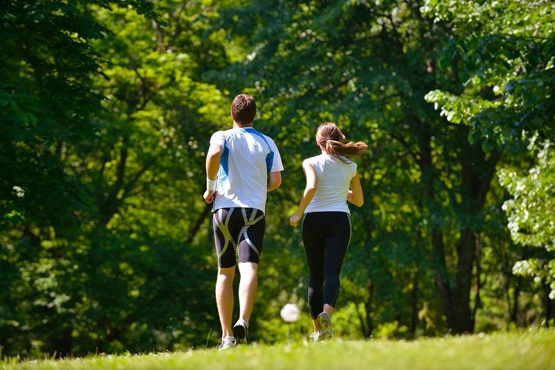 corrida exercício aeróbico