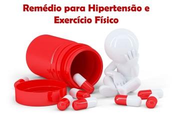 Remédio para hipertensão e exercício físico: conheça a importante relação entre eles