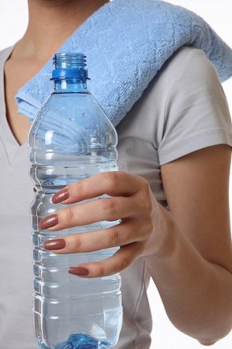 necessidade de água