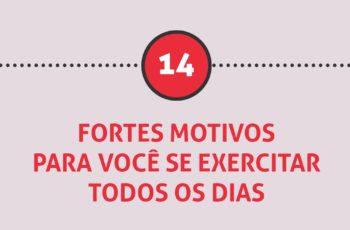 [infográfico] 14 Fortes motivos para você se exercitar todos os dias