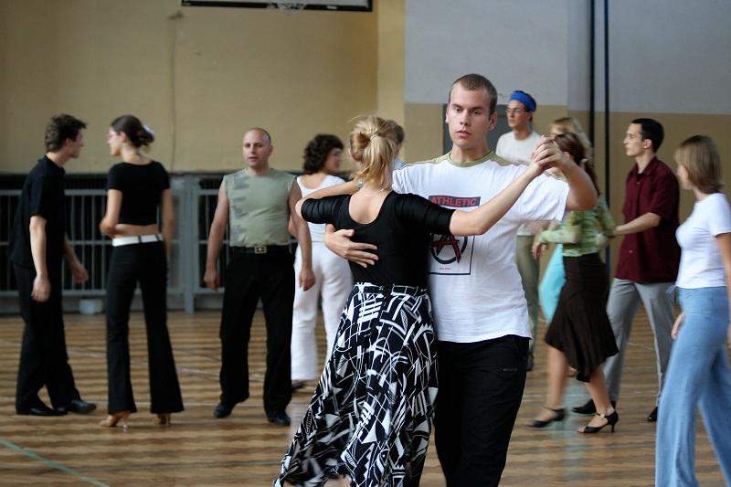 dança exercício aeróbico